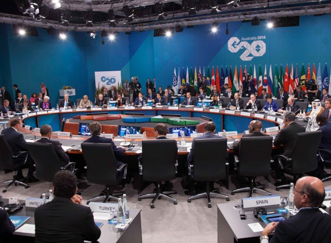 G20 Summit Plenary Session